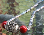 Bali Bead and Pearl Necklace