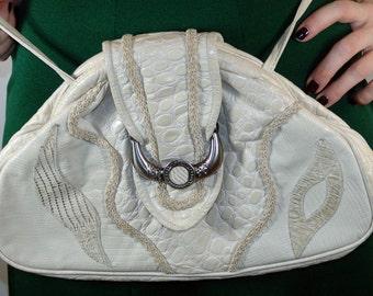 Vintage Western Leather Bag