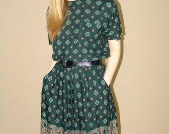 Vintage Romper-Dress