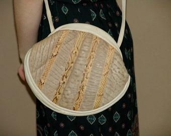 Vintage 70s Snakeskin handbag