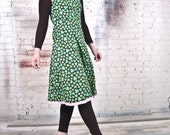 """Vintage Inspired 1960s Dress by Tracy McElfresh""""Shamrock I Love You"""" Reversible Dress"""