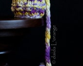 OOAK Newborn Sagey II Hat - Yellow Pansy - Inspired by Nature Collection