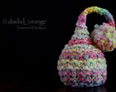 OOAK Newborn Ruffle Waves Pixie Elf Hat - Spring Bouquet - Spring Collection