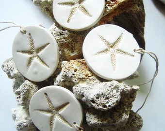 Beach Wedding Starfish Decorations Favor Gift Tags Wine Charms Set of 10 Hang Tags Wedding Favors Tag Beach Theme Wedding