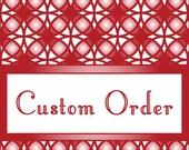 Custom Order for Patricia Avenue...Sticker Re-Design