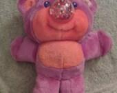 vintage nosy bears bear gumlet pink orange gumballs