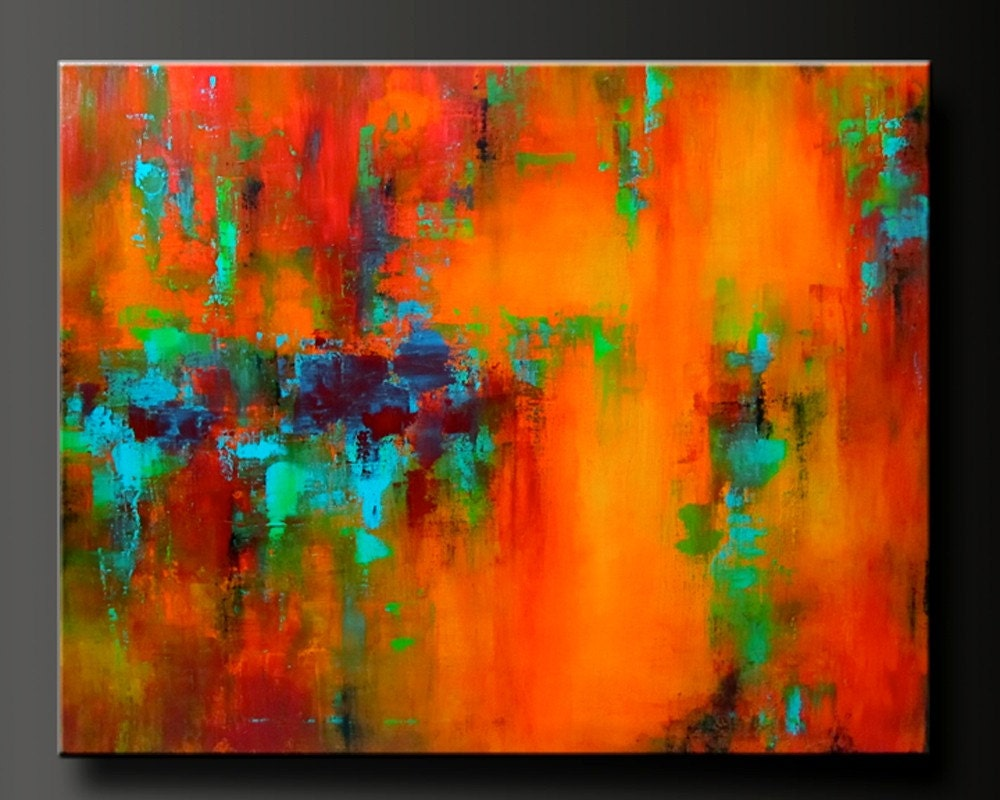 Mardi gras 30 x 24 acrylic abstract painting highly for Artist canvas paint color