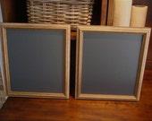 Chalkboard Set, (Antique Gold) Wedding, Bridal, Restaurant, Home (11 x 13 inches