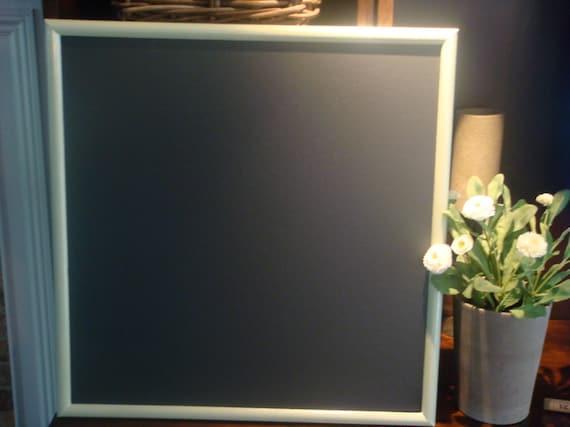 Chalkboard, Celery Green, Vintage Framed Chalkboard (19 1/2 x 20 inches)