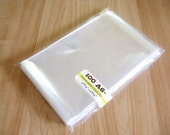 100 Cello Bag - A6 - 4 15/16 x 6 9/16 in - Resealable Clear