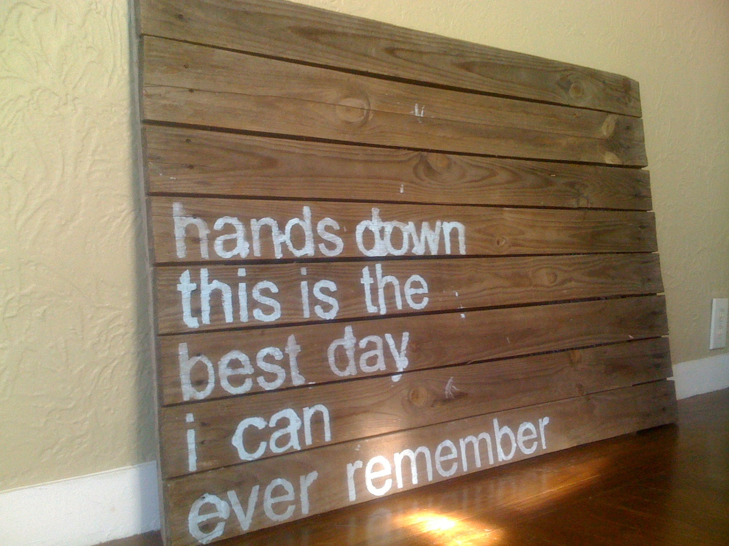 Garden Centre: Custom Quote Pallet Painting By Strongodares On Etsy