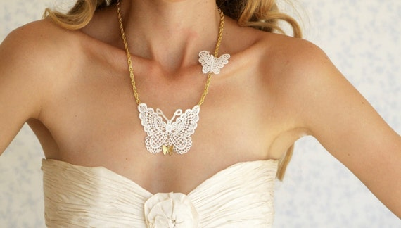 Buy 1 Get 1 SALE- Butterflies Love necklace - Limited edition