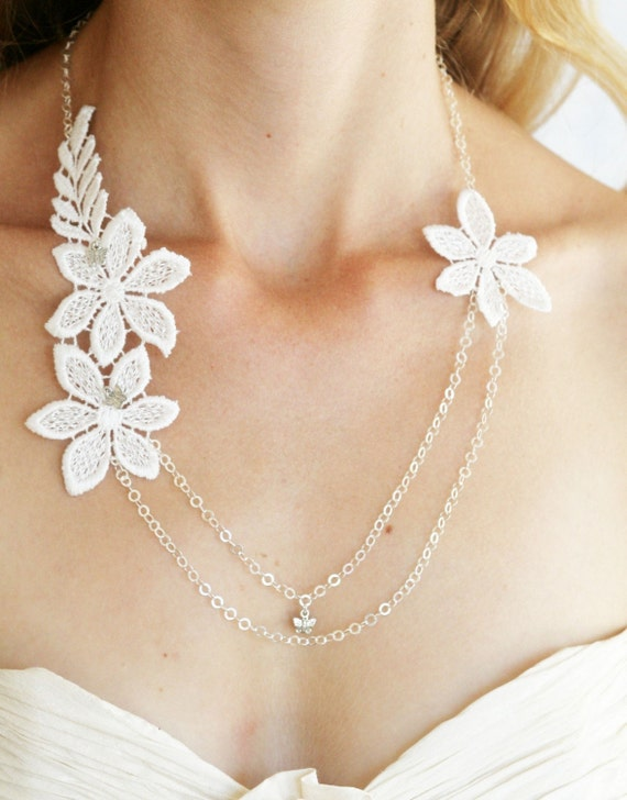 Spring Blossom Double chain necklace