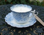 Regency 'Mr. Darcy' High Tea Candle - Chamomile and Lavender