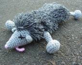 Roadkill Possum Crochet Pattern