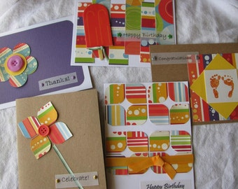 Handmade Card Gift Pack-10 assorted greeting cards