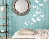 Vinyl Wall Art Sticker Decal - Butterflies  -  024 - custom order for Coverkr