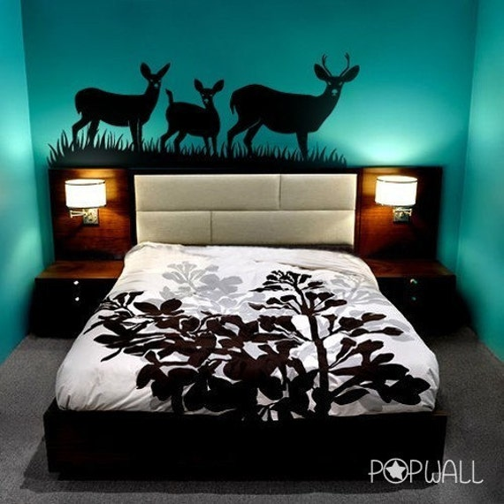 Items Similar To FREE SHIPPING- Deers Wall Decal ,Animal