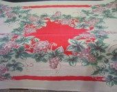 1950s Printed Tablecloth by Fiatelle