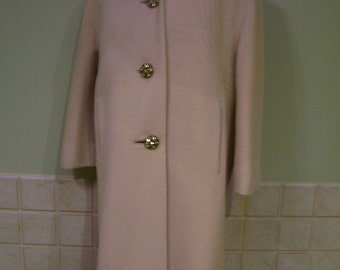 Vintage Forstmann Wool Coat Medium