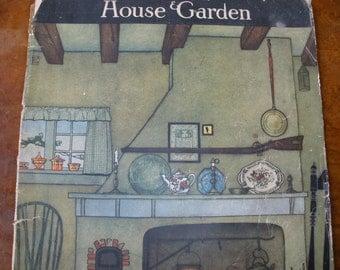 House and Garden Magazine August 1919