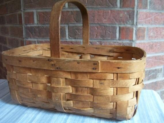 Old Garden Produce Basket