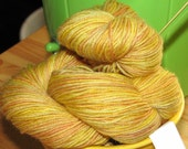 Sock Yarn - 'Gelato' Banana Fudge