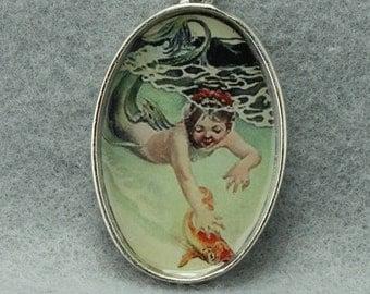 Whimsical Little Mermaid Pendant DIY