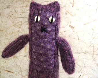 Purple Knitty Kitty