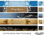Choose One Slim 3 Piece Set - Elegance - Banner/Avatar Package