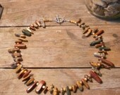 Luv Rox - Chunky agate gate necklace