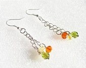 Citrus Simple Chain Dangle Earrings
