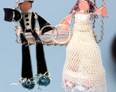 The Newlywed Ornament- Customizable