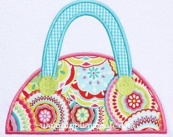 454 Purse Machine Embroidery Applique Design