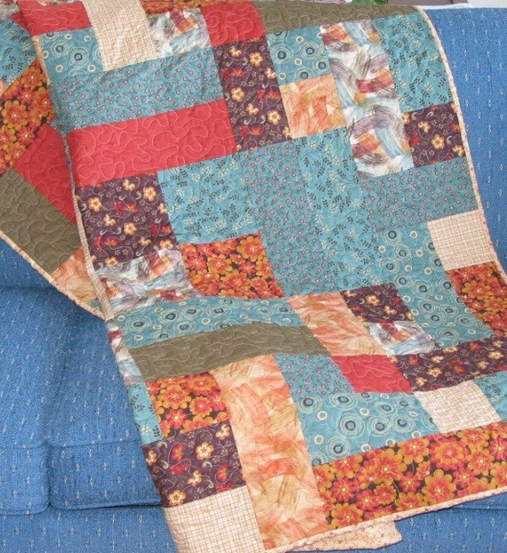 Pdf Copy Lap Quilt Pattern Easy Fat By Suelynnsquiltdesigns