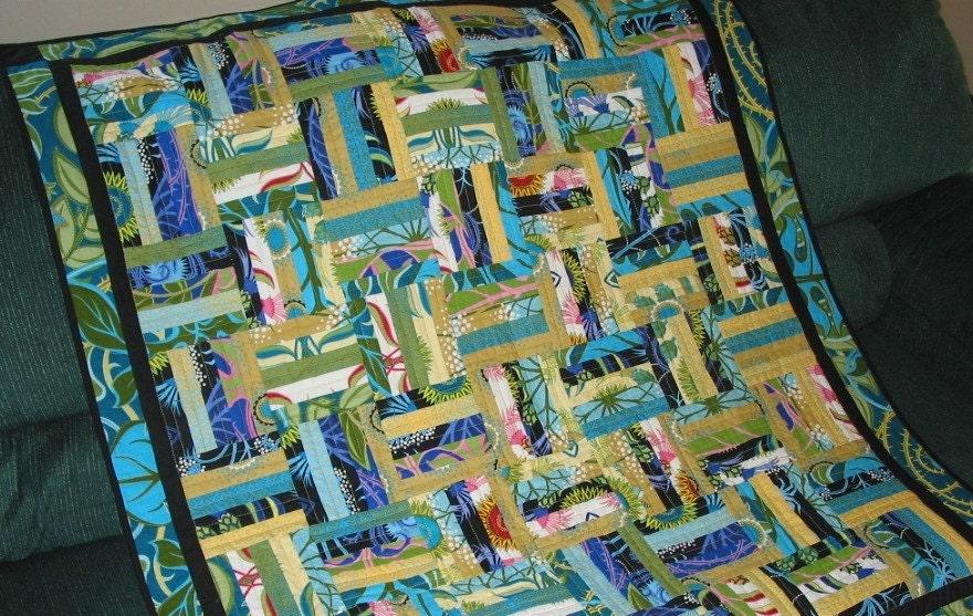 PDF Copy Easy Honey Bun or Jelly Roll Pattern Chair Rail : log cabin baby quilt pattern - Adamdwight.com