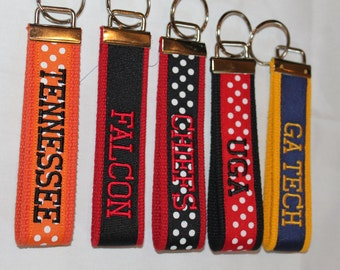 Collegiate Key Fob  TWO sided