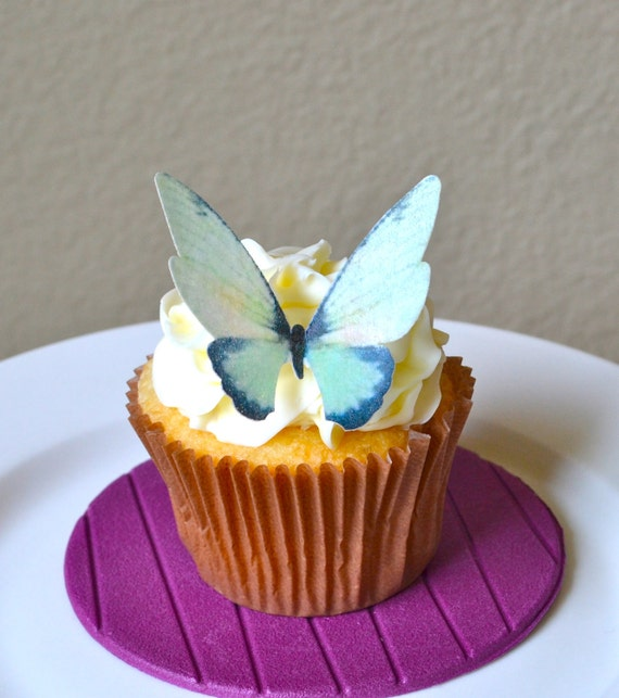 how to make edible butterflies for cupcakes