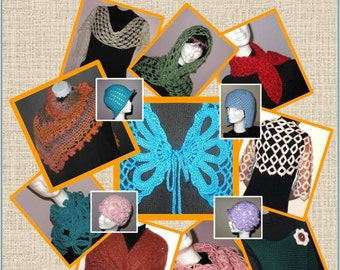 10 Stunning Knitting and Crochet Patterns for USD19.95