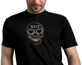 Death Hearts You / Men's T / Black