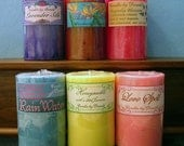 Special Order for nleenurse pillar candle six pack