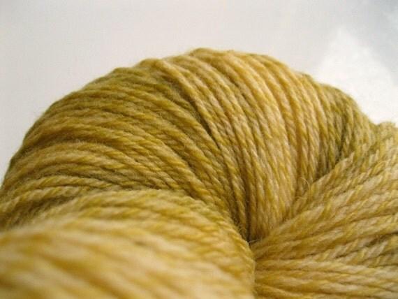 CIJ, Hand dyed yarn, merino wool, sock, gold knitting yarn Christmas in July, christmasinjuly