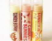 Winter Holiday Lip Balm Pack (Vegan)