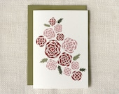 Any Occasion Card - A Dozen Roses
