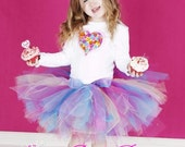 Sweet as Candy -Candy Hearts Valentines Day Tutu Outfit