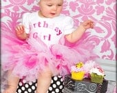 Girls Birthday Outfit-  Birthday Girl tutu outfit -comes in long or short sleeve in size newborn up to size 6