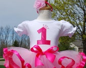 Girls First Birthday Outfit-  Bubble Gum Princess Custom Birthday outfit -Perfect for girls 1st, 2nd, 3rd, 4th, 5th or 6th Birthday