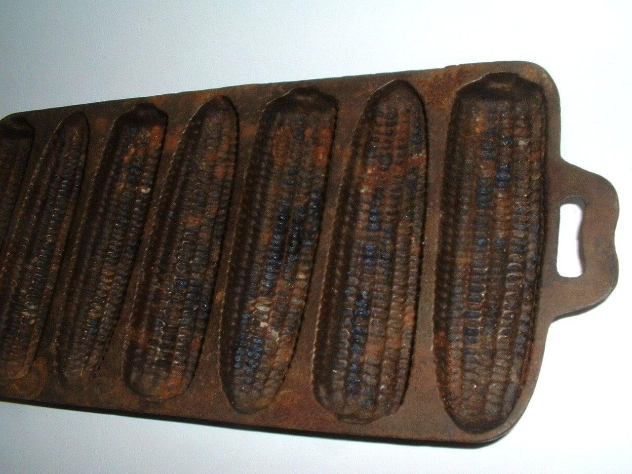 Vintage Rusty Prim Cast Iron Cornbread Pan Sale Was 14 50