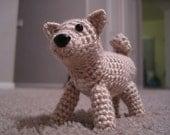 PATTERN - Shiba Inu or Basenji Dog Crochet Amigurumi