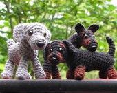 PATTERN: Doberman, Dachshund, Weimaraner Dog Crochet Amigurumi